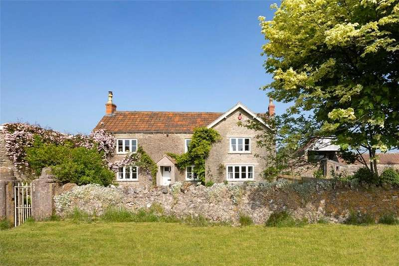 4 Bedrooms Detached House for sale in Compton Martin, Bristol, North Somerset, BS40