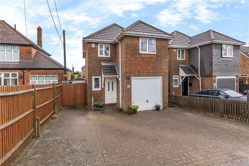 3 Bedrooms Detached House for sale in Common Road, Kensworth, Dunstable, Bedfordshire