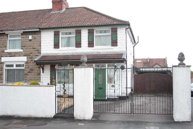 3 Bedrooms End Of Terrace House for sale in Hill View Road, Bedminster Down, Bristol, BS13 7LE