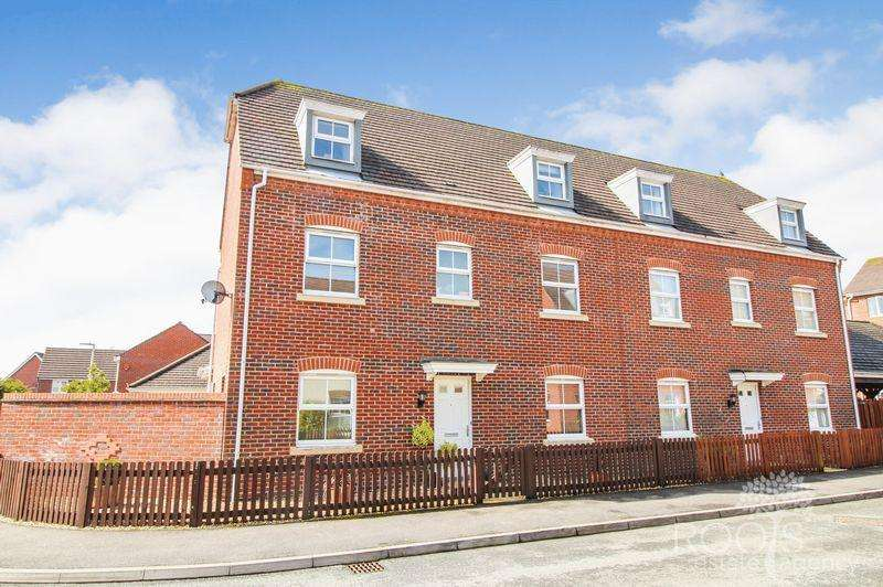 4 Bedrooms Semi Detached House for sale in Grenadier Gardens, Thatcham