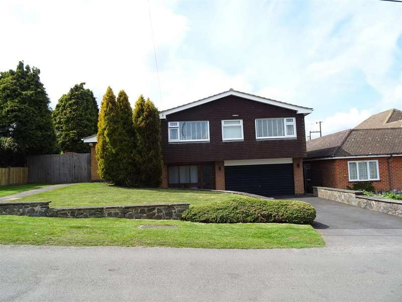 4 Bedrooms Detached House for sale in Brick Kiln Lane, Shepshed, Loughborough