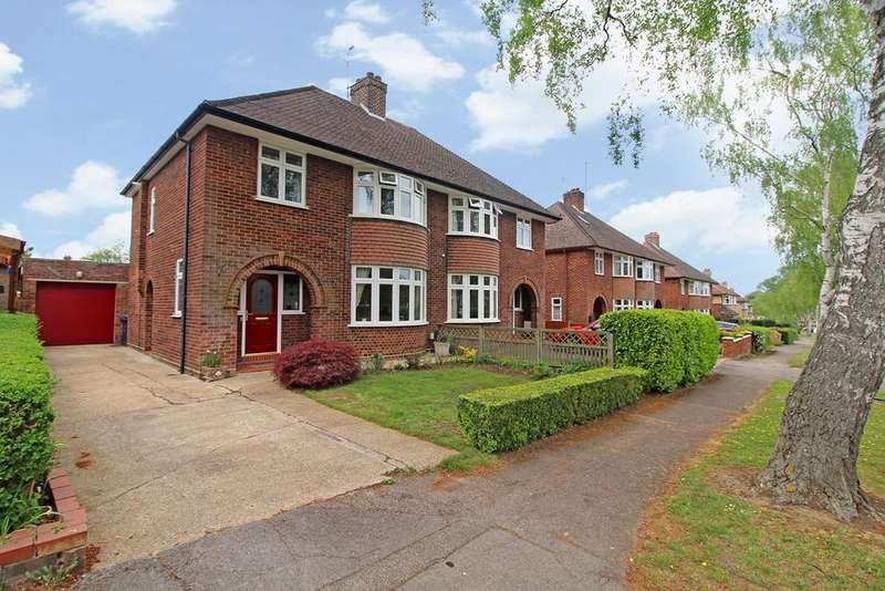 3 Bedrooms Semi Detached House for sale in Bowershott, Letchworth Garden City, SG6