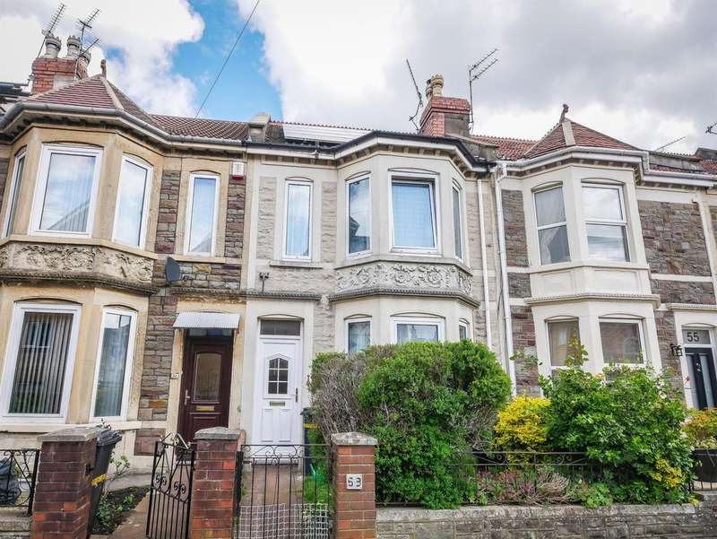 3 Bedrooms Terraced House for sale in Maxse Road, Knowle, Bristol, BS4 2JQ
