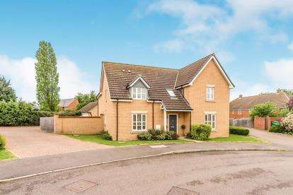 5 Bedrooms Detached House for sale in Ridgeview, Houghton Conquest, Bedford, Bedfordshire
