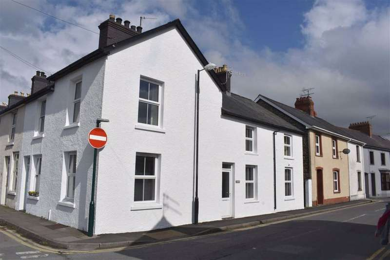 2 Bedrooms End Of Terrace House for sale in New Street, Lampeter