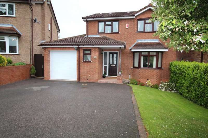 4 Bedrooms Detached House for sale in Cumbrian Way, Shepshed