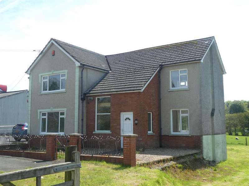 3 Bedrooms Detached House for sale in Pentrebach, Lampeter