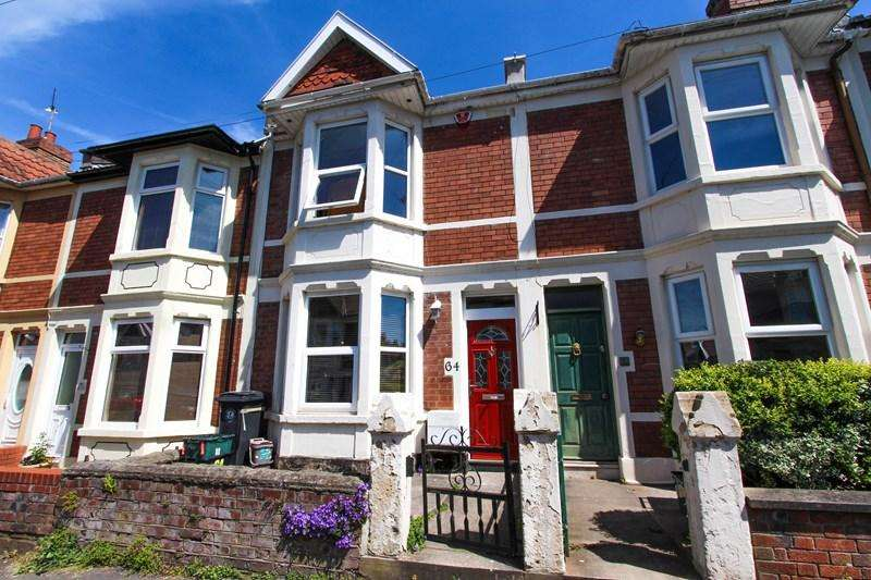3 Bedrooms Terraced House for sale in Repton Road, Brislington, Bristol