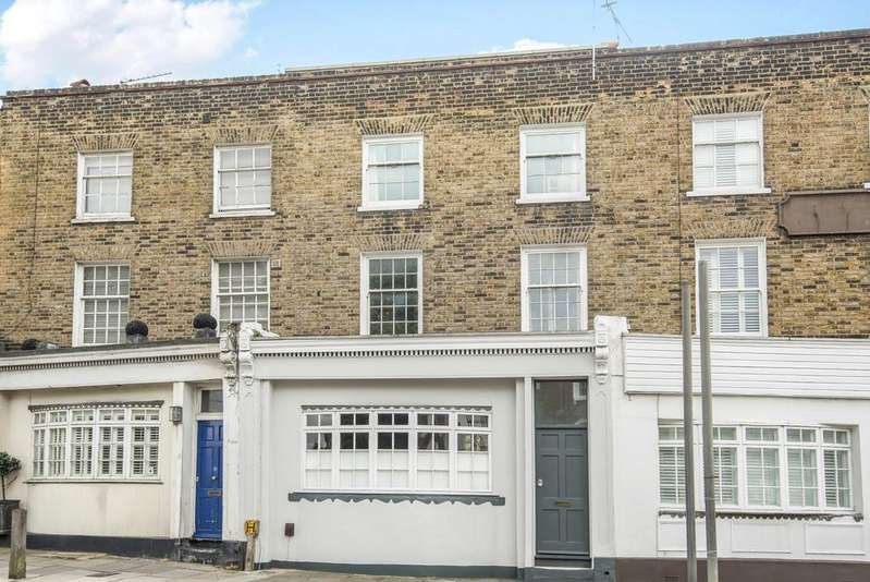 4 Bedrooms Terraced House for sale in Greenwich South Street London SE10