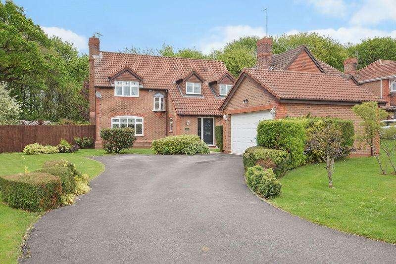 4 Bedrooms Detached House for sale in Copperwood, Norton. Runcorn