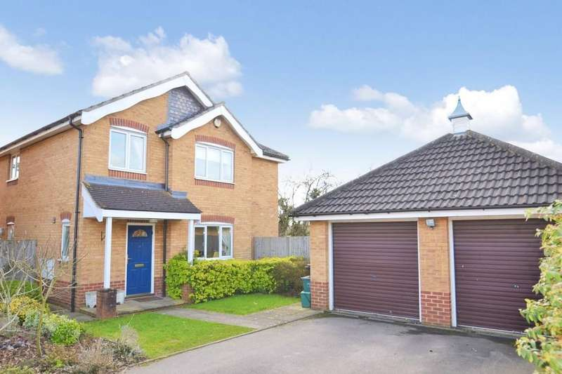 4 Bedrooms Detached House for sale in Suffolk Close, London Colney, St. Albans
