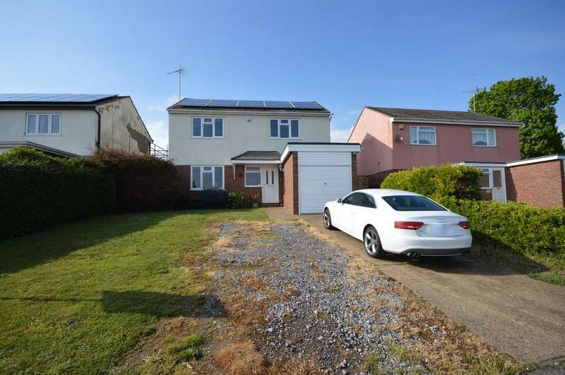 4 Bedrooms Detached House for sale in Gravel Hill Way, Dovercourt, Harwich
