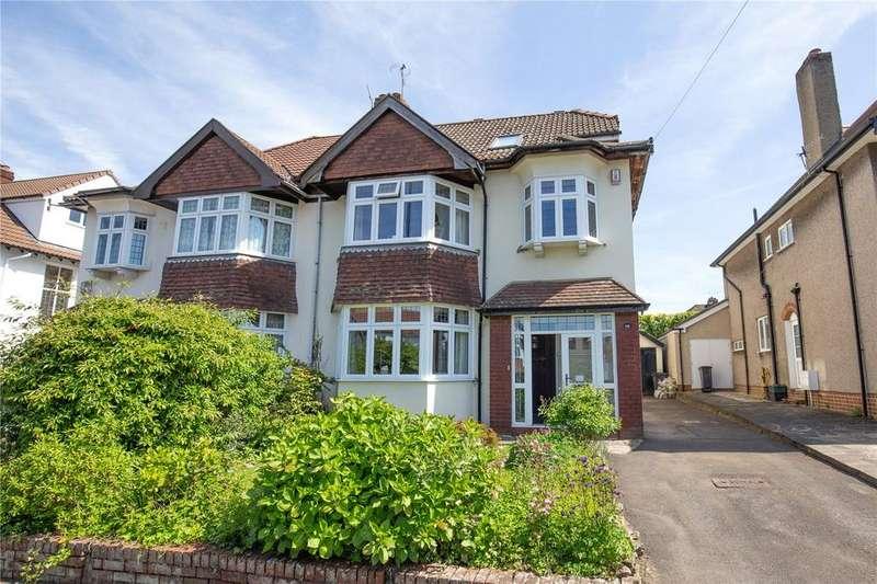 5 Bedrooms Semi Detached House for sale in Stoke Lane, Westbury-on-Trym, Bristol, BS9