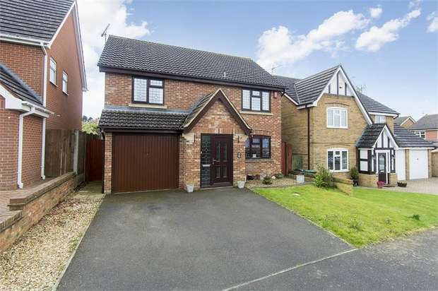 4 Bedrooms Detached House for sale in Petworth Drive, Market Harborough, Leicestershire
