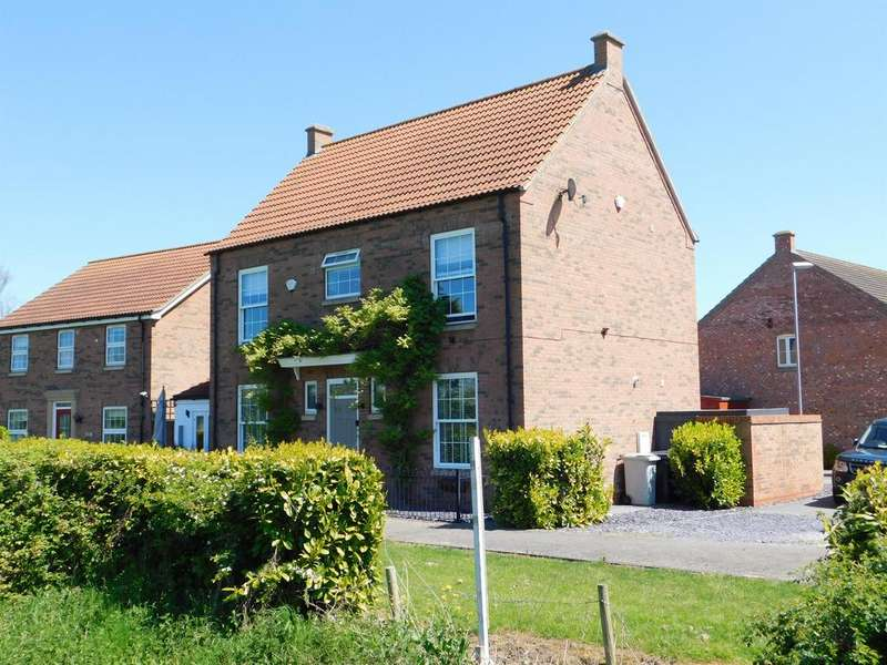4 Bedrooms Detached House for sale in Bishop Tozer Close, Burgh Le Marsh, Lincolnshire, PE24 5JF