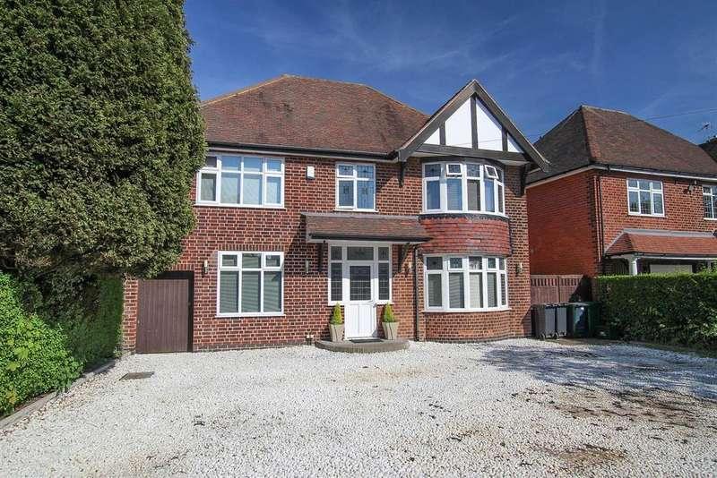 4 Bedrooms Detached House for sale in Mapperley Plains, Mapperley, Nottingham