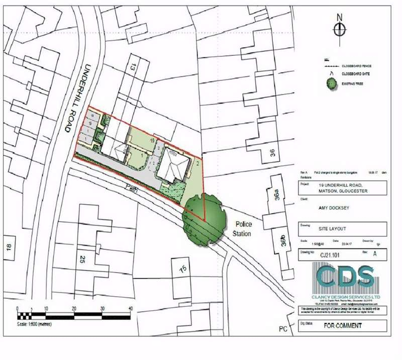 Land Commercial for sale in Underhill Road, Matson, Gloucester