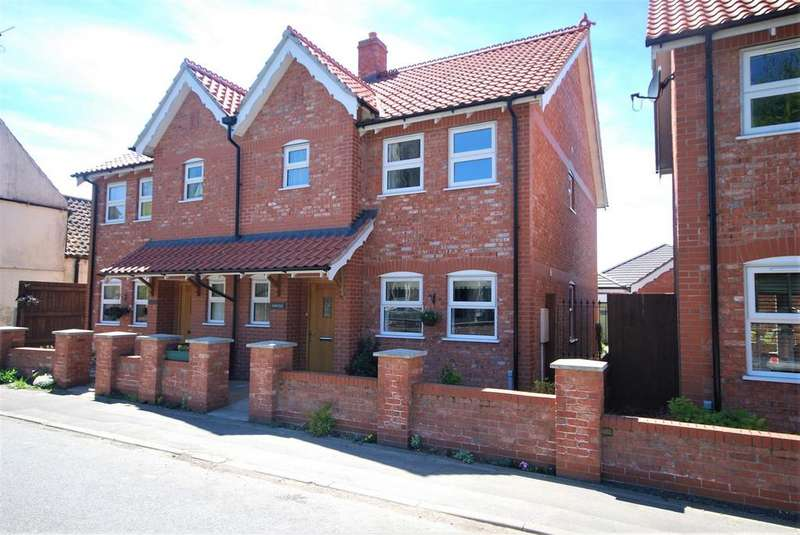 3 Bedrooms Semi Detached House for sale in Station Road, Sutterton, Boston
