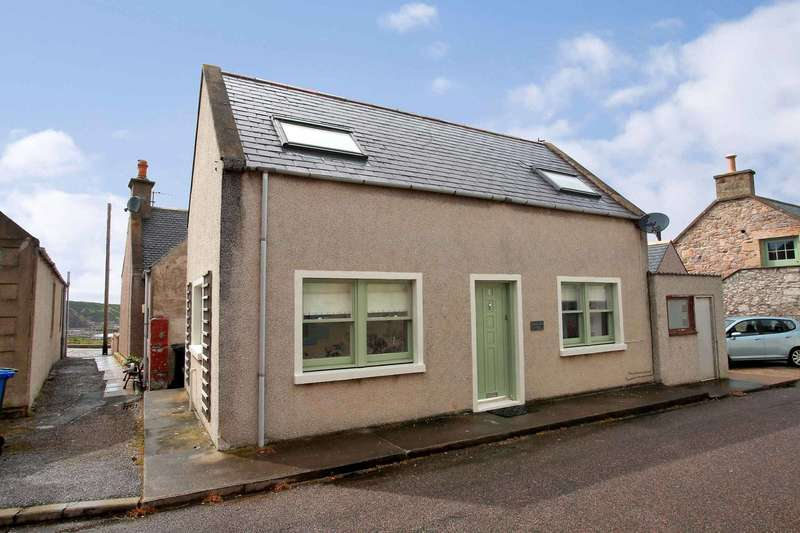 2 Bedrooms Cottage House for sale in Patrol Place, Portknockie, Buckie, Moray, AB56 4JR