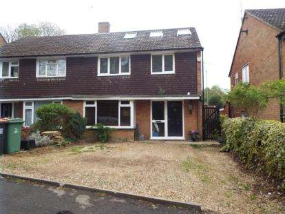 4 Bedrooms Semi Detached House for sale in Hambro Close, East Hyde, Luton, Bedfordshire