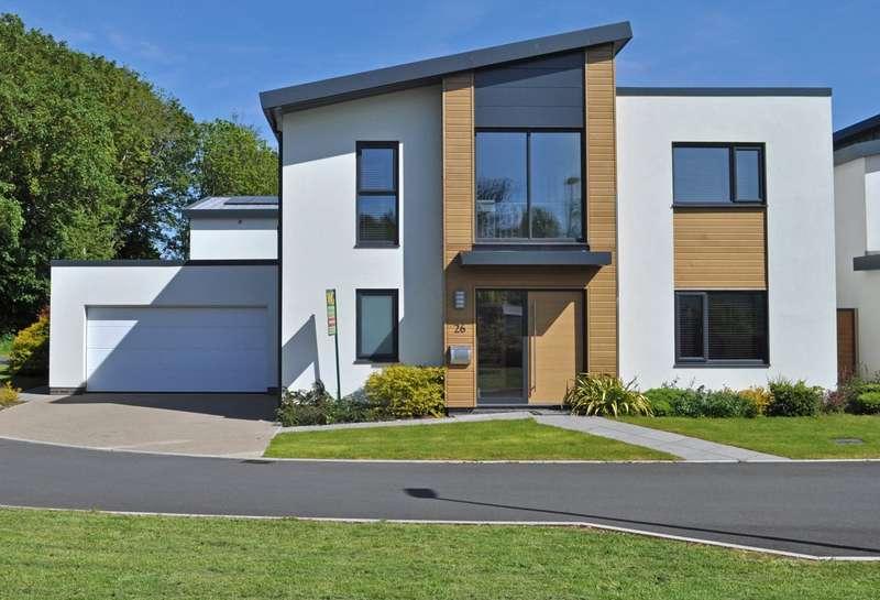 4 Bedrooms Detached House for sale in Exeter, Devon