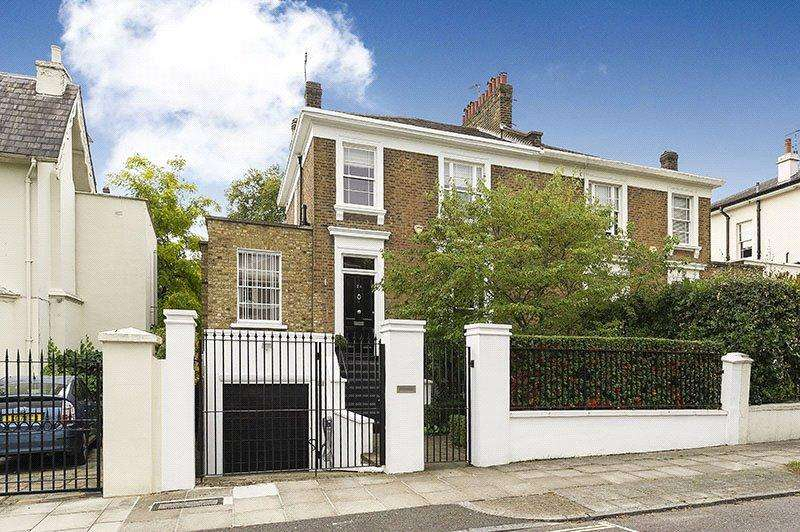 4 Bedrooms Semi Detached House for sale in Norfolk Road, St John's Wood, London, NW8