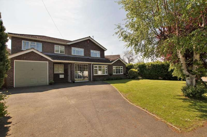 4 Bedrooms Detached House for sale in Sands Lane, Carlton-le-Moorland, Lincoln