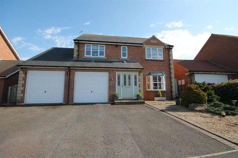 4 Bedrooms Detached House for sale in West End, Hunwick, Crook