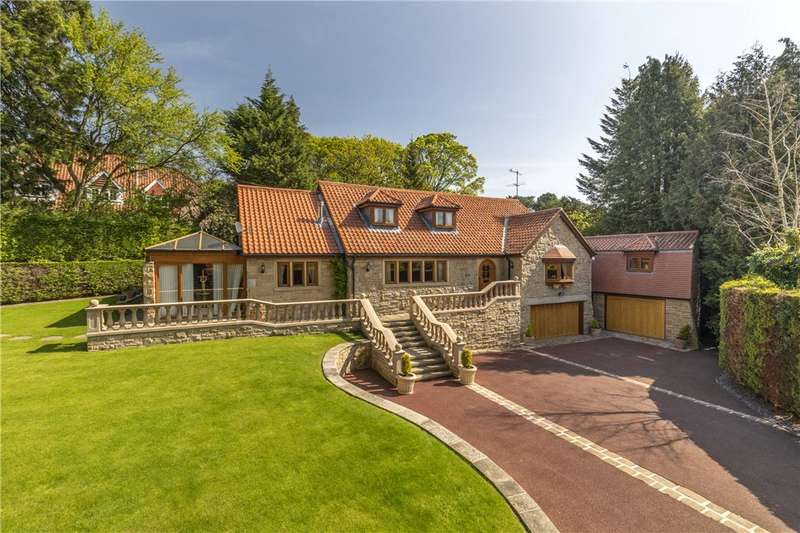 5 Bedrooms Detached House for sale in Langbar Road, Middleton, Ilkley, West Yorkshire
