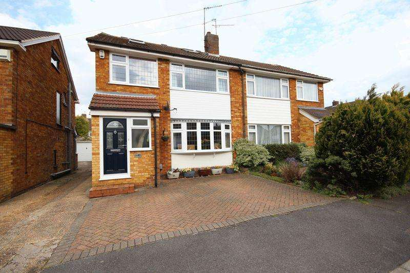 4 Bedrooms Semi Detached House for sale in 4 bed with conservatory in Putteridge