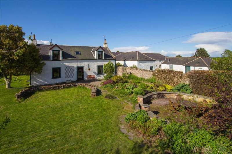 4 Bedrooms Detached House for sale in Tobees Farmhouse, Oathlaw, By Forfar, Angus, DD8