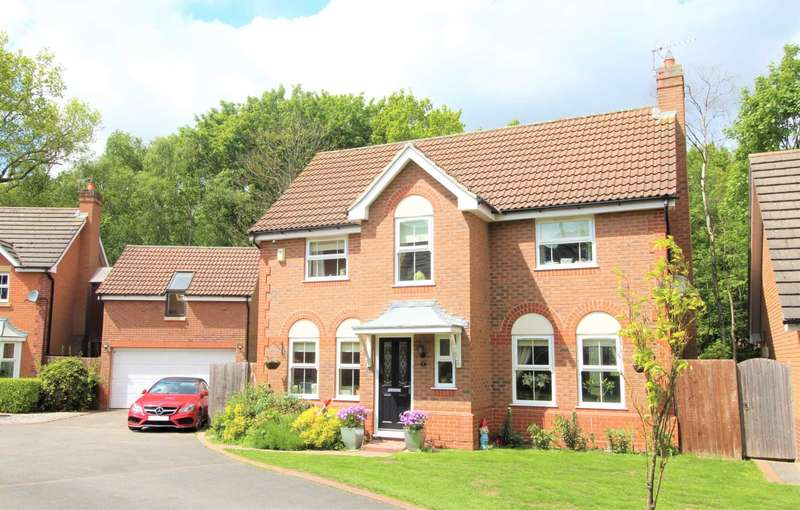 4 Bedrooms Detached House for sale in Frome Close, Lincoln, LN6 3DA