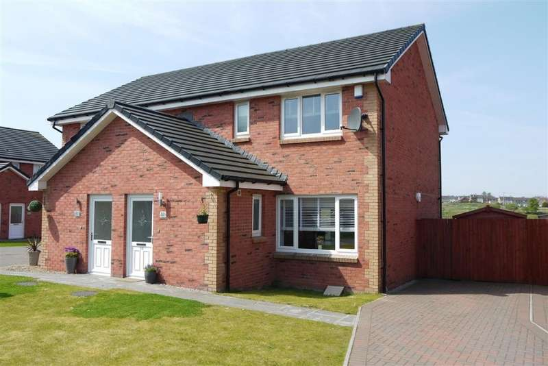 3 Bedrooms Semi Detached House for sale in Blairhead View, Shotts, ML7