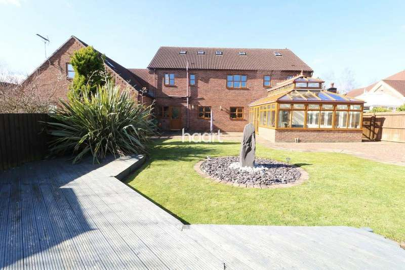 6 Bedrooms Detached House for sale in Fulmar Road, Lincoln