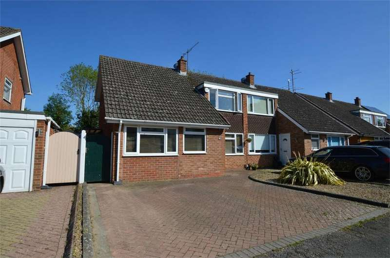 3 Bedrooms Semi Detached House for sale in Carmarthen Road, Hatherley, Cheltenham