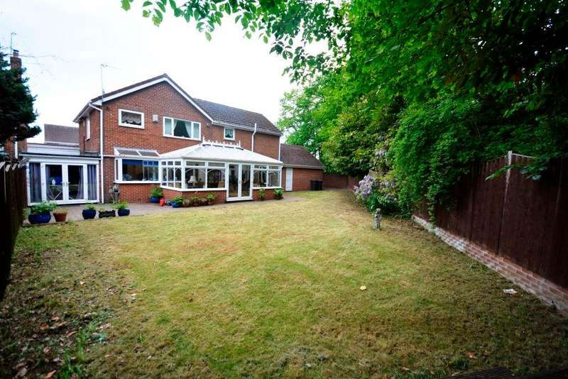 4 Bedrooms Detached House for sale in Caxton Way, North Lodge Estate, DH3