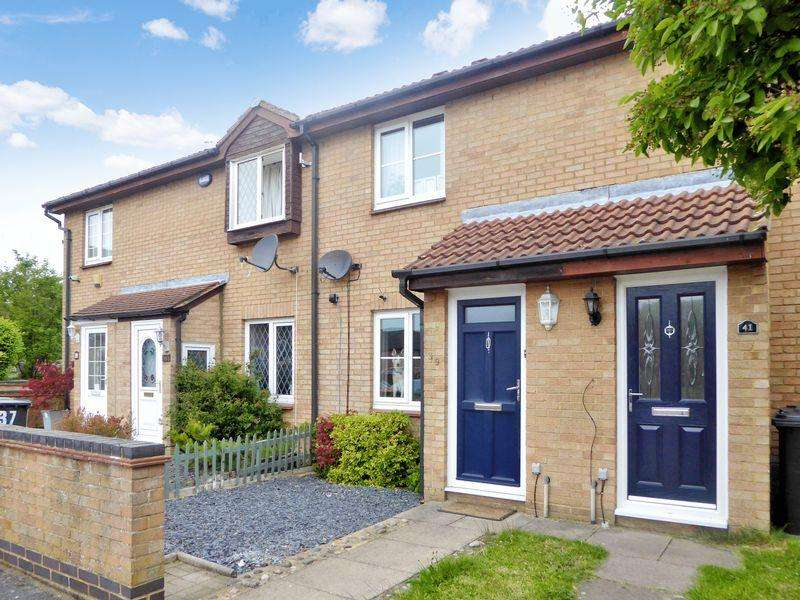 2 Bedrooms Terraced House for sale in Constable Close, Dunstable