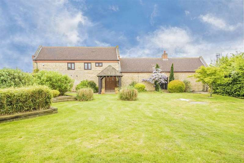 4 Bedrooms Barn Conversion Character Property for sale in Thrapston Road, Finedon, Wellingborough