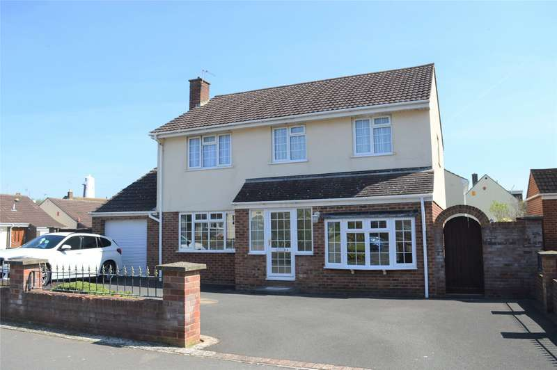4 Bedrooms Detached House for sale in Pizey Avenue, Burnham-on-Sea, Somerset, TA8