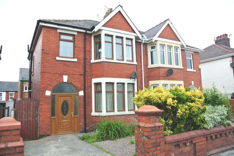 3 Bedrooms Semi Detached House for sale in Park Road, Blackpool, FY1 4ET
