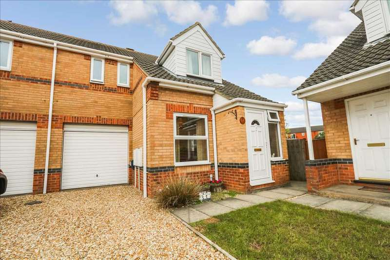 3 Bedrooms Semi Detached House for sale in Peppercorn Close, Lincoln
