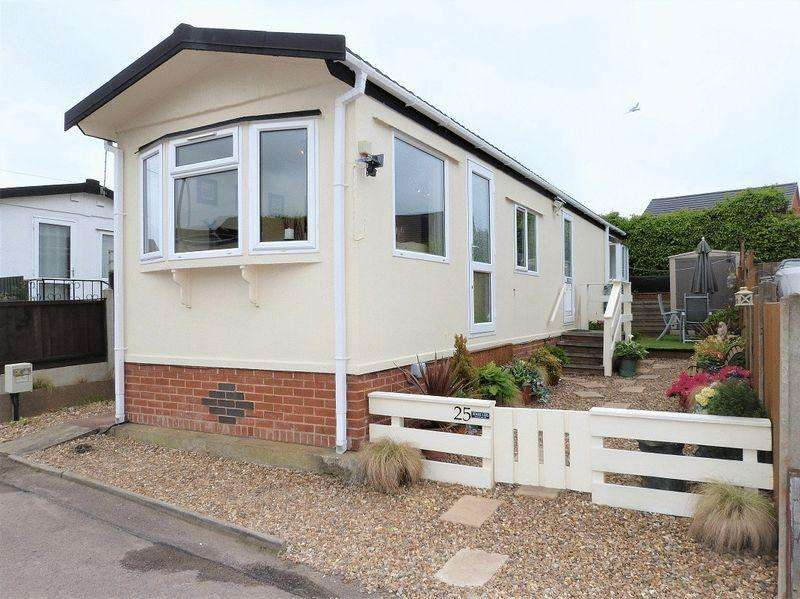 1 Bedroom Park Home Mobile Home for sale in Berkeley Close, Mountsorrel