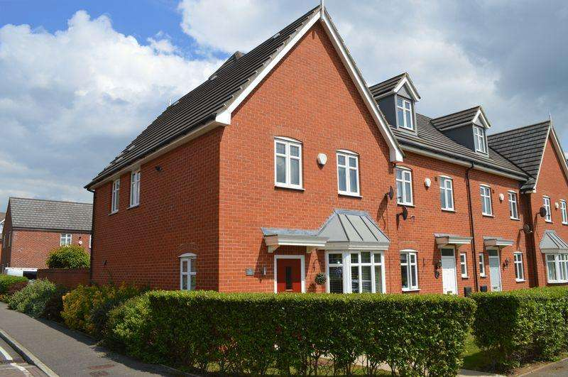 3 Bedrooms End Of Terrace House for sale in Kirkstall Close, Lincoln