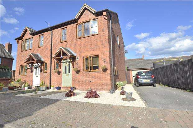 3 Bedrooms Semi Detached House for sale in 16 Cypress Road, Walton Cardiff, TEWKESBURY, Gloucestershire, GL20 7RB