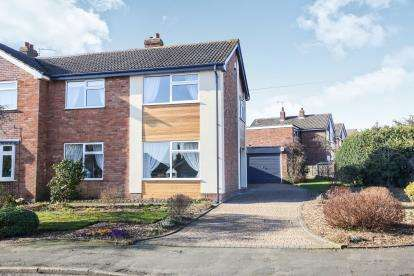 3 Bedrooms Semi Detached House for sale in Overdale Road, Romiley, Stockport, Cheshire