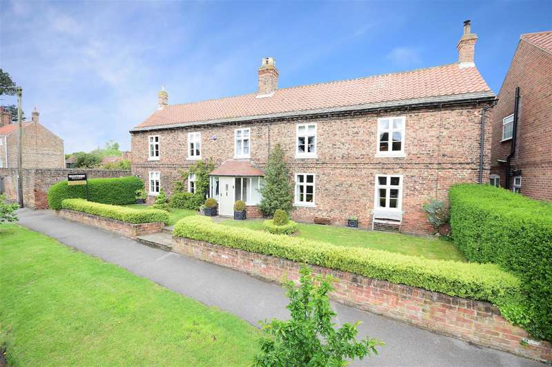 5 Bedrooms Detached House for sale in Main Street, Little Ouseburn, York, YO26 9TD