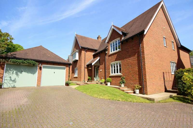 5 Bedrooms Detached House for sale in Cassia Green, Cheshire, CW7