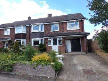 4 Bedrooms Semi Detached House for sale in Mallard Hill, Brickhill, Bedford, Bedfordshire