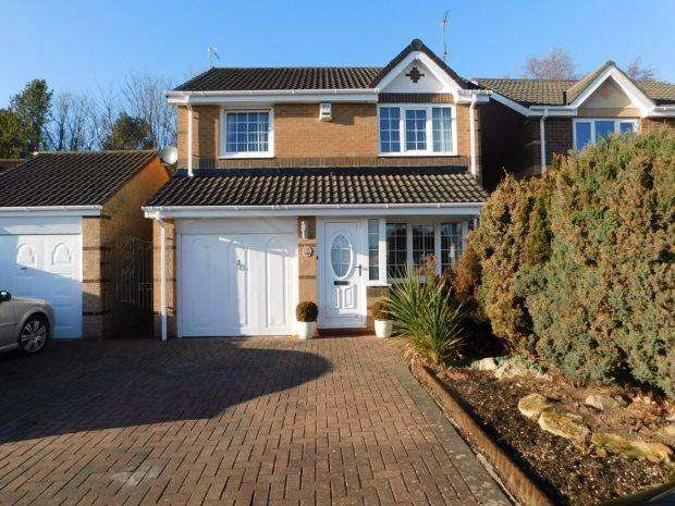 3 Bedrooms Semi Detached House for rent in LYNES DRIVE, LANGLEY MOOR, DURHAM CITY : VILLAGES WEST OF
