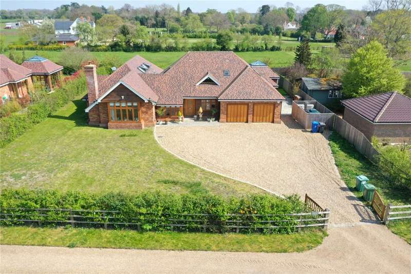 5 Bedrooms Detached House for sale in Hayes Meadows, Milley Road, Reading, RG10